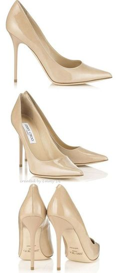 I need pointy toe patent nudes! I have a matte round toe pair by Madden but I find myself putting them on and wishing they were pointy. I cant afford $500  though!!