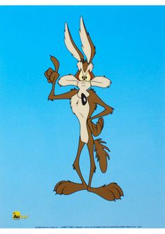 I always felt sorry for the Coyote:::  LOONEY TUNES ''Wile E Coyote'' Sericel