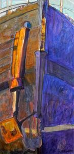 Working Boat by Christy Sverre acrylic on canvas sold Nautical Art, Boat, Canvas, Abstract, Painting, Inspiration, Tela, Dinghy, Biblical Inspiration