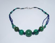 A personal favorite from my Etsy shop https://www.etsy.com/listing/250380332/vintage-natural-turquoise-and-lapis