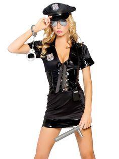 Amazon.co.jp | ハロウィン コスプレ ポリス 警官 婦人警官 衣装 仮装 イベント コスチューム VEROMAN (レディース1, ポリス4) | ホビー 通販