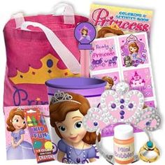 Sofia the First Deluxe Favor Packs, Sofia the First Party Supplies