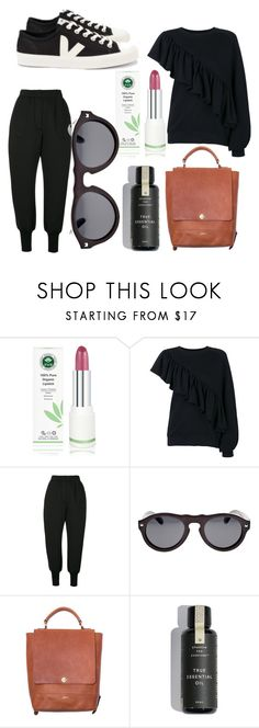 """""""Untitled #172"""" by sustainableoutfits ❤ liked on Polyvore featuring Ioana Ciolacu, Veja, Earth and Beaumont Organic"""