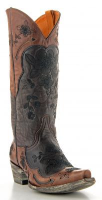 Womens Old Gringo Bonnie Boots Chocolate Brass #L696-9 via @Allen & Cheryl Smith Boots