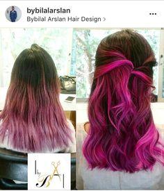 #purplehair #pinkhair #olaplex
