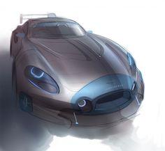Car sketch by YIK on cardesigncommunity.com