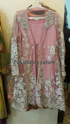7dc8d400bef3 Pakistani cape dress..by Sewing and Embroidery Studio