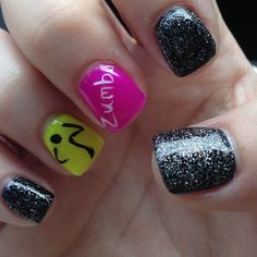 I have Zumba nails thanks to Nail Addict! Good timing since I'll want them June 1st! :)