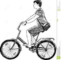 hombre en bicicleta dibujo - Búsqueda de Google Bicycle, Vehicles, Google, Bicycles, Tags, Men, Bicycle Kick, Bike, Trial Bike