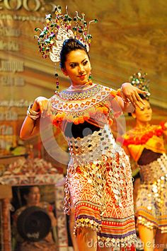 Kelabit wedding dress