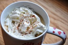 Low Fat Pumpkin Spice Latte... Inspired by Starbucks! | Honey, What's Cooking?