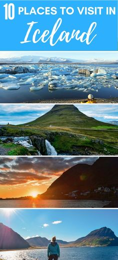 If you're planning a trip to Iceland these 10 must-see places can't miss from your itinerary. Find out the best places to visit and things to do in Iceland.