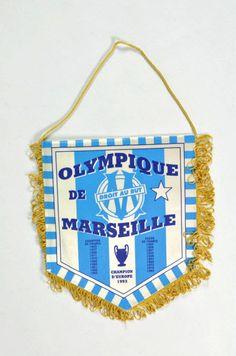 Fanion de supporter Olympique de Marseille #football #om
