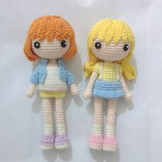 Amigurumi crochet dolls. (Inspiration).