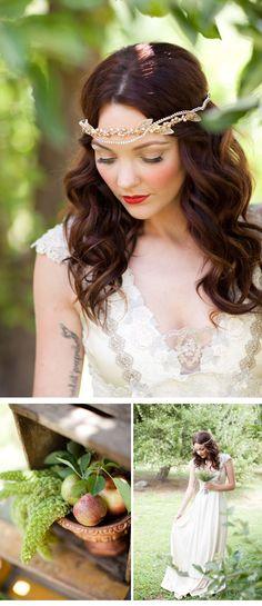 WEDDING INSPIRATION SHOOT; photo: Chris and Kristen Photography, design: Gather Events