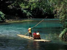 ⚓ Definitely in the unlimited class.  The Martha Brae River, Jamaica.