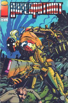 Image Comics, Superpatriot #3, October 1993, like new by VintageNEJunk on Etsy