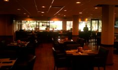Inside the clubhouse restaurant at Emerald Hills Country Club, Hollywood, Florida http://www.amplificationinc.com/