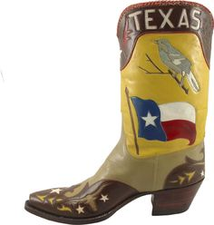 43's Presidential Seal cowboy boots! | Texas Lifestyle | Pinterest