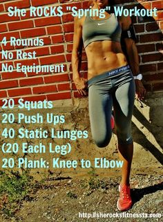 She ROCKS Workouts