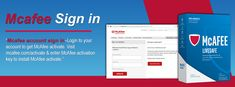 McAfee Sign In - A Easy Procedure for accessing your account for McAfee Antivirus to Download,Install or manage your security.