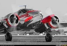Beechcraft 18 Twin Beech S series-just beautiful!!!