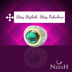 Stylish and modern Jewellery from Neesh will make you sparkle at every occasion. #Neesh   #LookGood   #Stylish   #Jewellery   #Sparkle   #fabulous    Contact us on : +917206277777  Email us : info@neesh.in