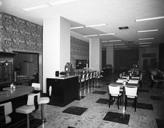 Dexter Horton Restaurant, 1954