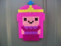 Princess Bubblegum Magnet perler beads by downybear