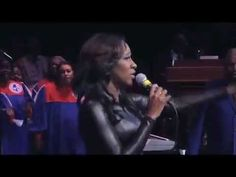 """The Mississippi Mass Choir """"God's On Your Side"""" featuring LeAndria Johnson & Stan Jones - YouTube"""