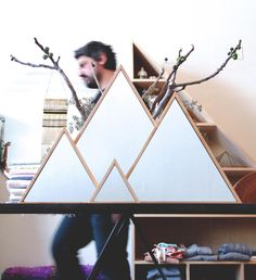 Triangle Mirrors by Marvin Freitas | A R T N A U