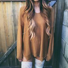 Betty Oversize Sweatshirt (Brown)