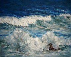 Mary Ruocchio - Crash (oil Pastel)