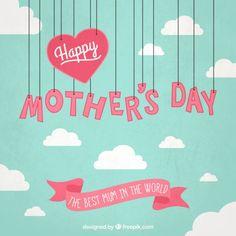 36 Template Kartu Ucapan dan Banner Hari Ibu (Mother's Day) Happy Mothers Day Images, Happy Mother Day Quotes, Diy Mothers Day Gifts, Mothers Love, Mother Gifts, Mother Daughters, Mother's Day Banner, Mothersday Quotes, Mother's Day Gift Card
