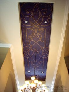 Hand-Painted Ceiling Mural | Anything But Plain