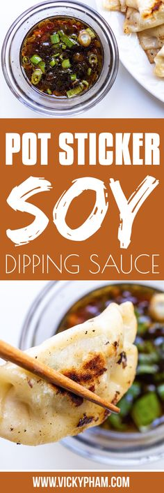 Store-bought potsticker dipping sauce is the worst. Not only is this soy dipping sauce great for pot stickers, it is also great for dipping vegetables.