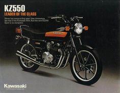 kawasaki kz550 SS original colour scheme