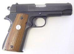Colt Combat Commander 9mm caliber pistol 70's vintage.