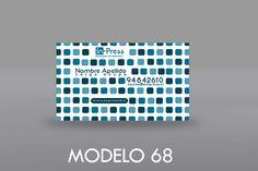 Motivo abstracto moderno de caracter decorativo, los colores varían según el logotipo de la empresa lo requiera