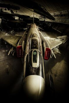 Phantom by Jon Hawkins on Flickr.F-4 Phantom II at Duxford Air Museum #Aircraft