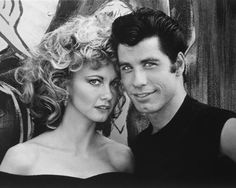 John Travolta and Olivia Newton-John... Grease.