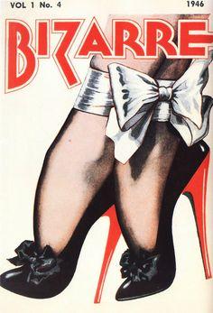 vintagegal: John Willie's Bizarre Magazine, Issue #4, 1946