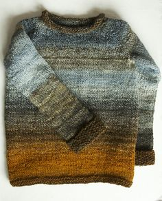 Blended colour knit | wool jumper | sweater