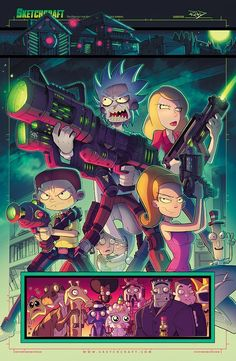 Rick and Morty: Total Rickall Tribute by RobDuenas.deviantart.com on @DeviantArt