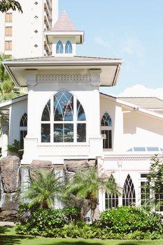 Ocean Crystal Chapel, Oahu Wedding