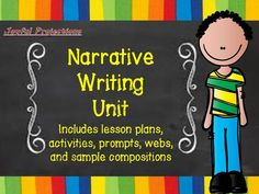Narrative Writing 3 Week Unit from JoyfulProjections on TeachersNotebook.com -  (17 pages)  - Plans, activities, and examples to help your students become master story-tellers!