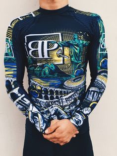 Break Point Limited Edition ROOTS Rash Guard