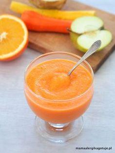 mus warzywno owocowy, dieta Dąbrowskiej, pomarańczowy mus, mus śniadaniowy