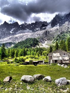 Aosta, Italy Just Waiting...