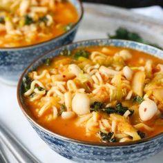 Kimchee Ramen Noodle Soup - Recipe at SoupAddict.com